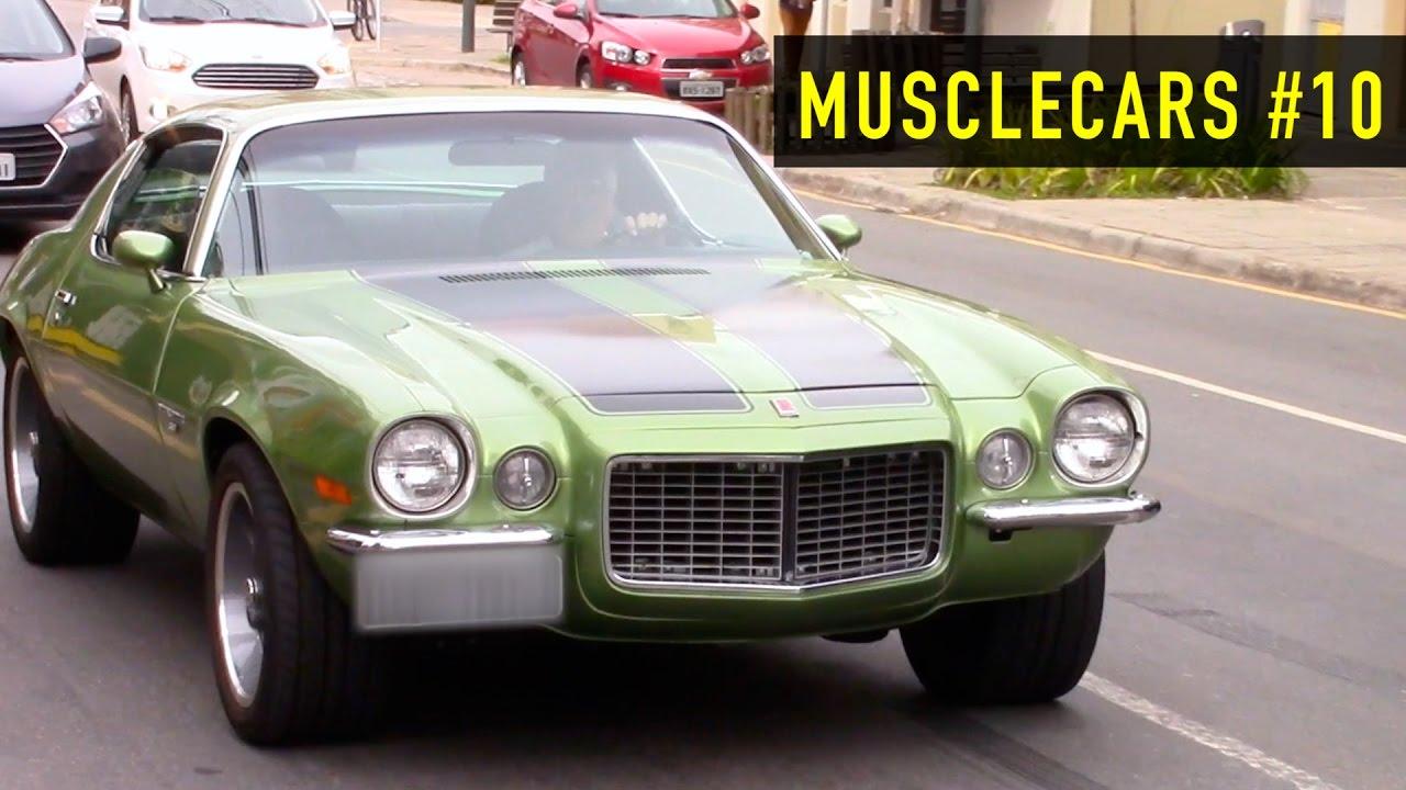 Musclecars Camaro Maverick Charger E Outros