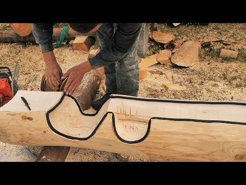 Building Off Grid Log Cabin - Ep 14 / Fully Scribed Log