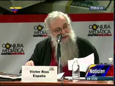 Foro Conjura Mediática: Intervención de Víctor Ríos (España) (fragmento)