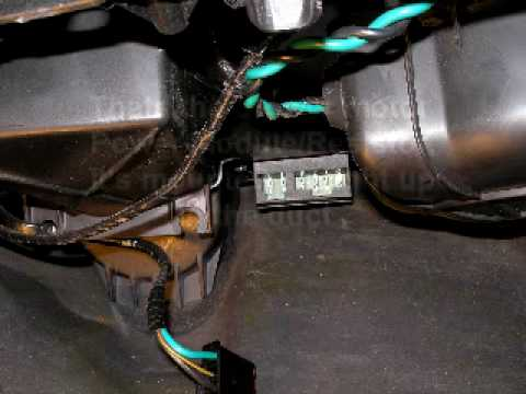 Chrysler 300M Blower motor Resistor, Power Modulemp4