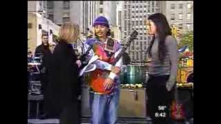 Michelle Branch & Santana - The Game Of Love (Live @ Today Show 20021022)