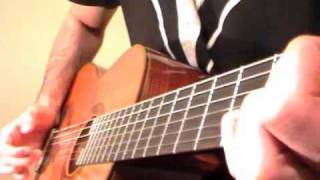 Moonlight Sonata Guitar Lesson (First 9 bars)