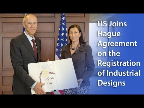 U.S. Joins the Hague Agreement