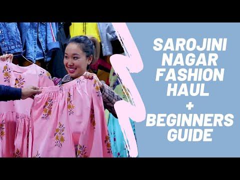 Beginner's Guide To Sarojini Nagar Market | Shraddha Gurung