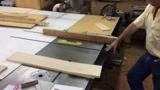 Randy Richard In The Shop - Woodchuck Quilt Rack Part 1