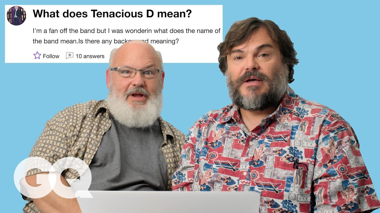 Tenacious D Goes Undercover on the Internet