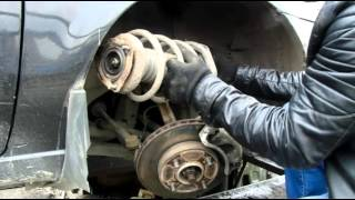 видео Стойки Ниссан Альмера Классик, N16 и G15: замена передних и задних стоек, ремонт