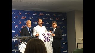 Mike Francesa new Mets manager Mickey Callaway press conference WFAN 2017 Video