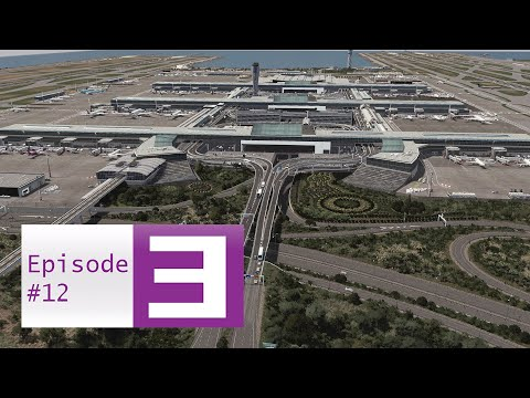 Cities Skylines: Sarougal Episode 12 - St Creile Airport [Part 5] Finishing the Terminal Loop