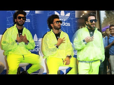 Ranveer Singh at Launch Of Adidas OFDD Store in India