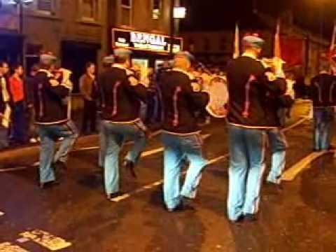 Portadown Defenders Fb Parade 14/08/09 Clip 2