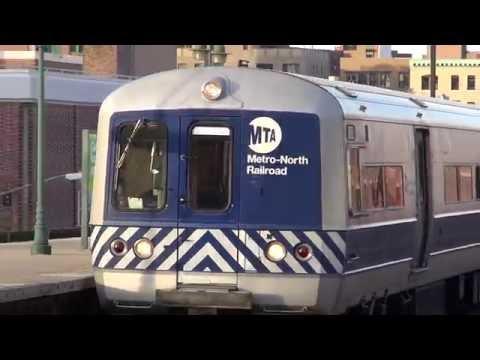 Metro North Hudson Ride behind P32 Genesis 225.