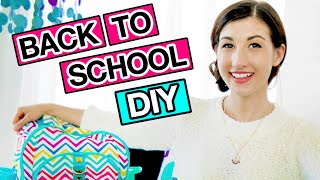 DIY Back To School Supplies With MayBaby!   Revved Up Rooms Ep 1