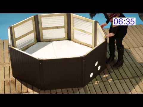 Muskoka Portable Spa Assembly