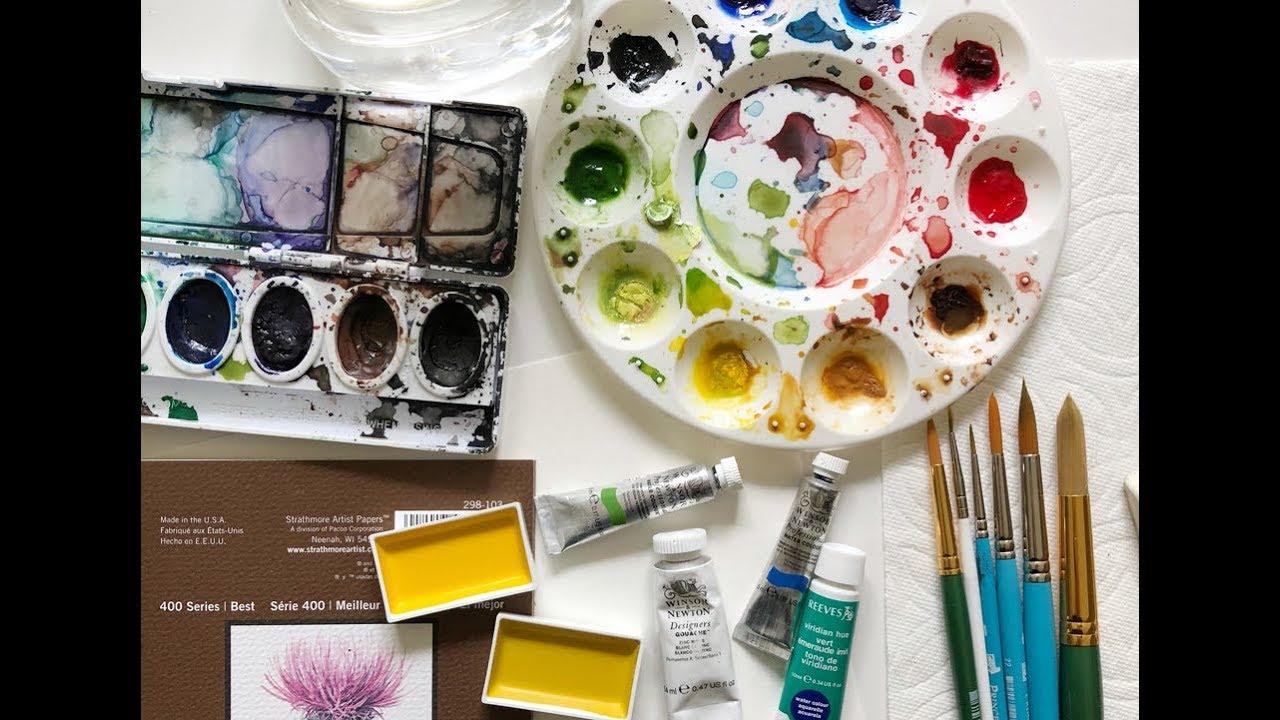 Watercolor Basic Painting Art