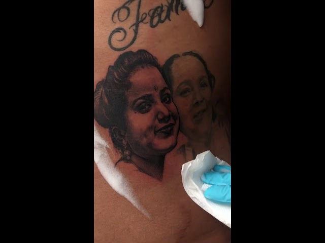 Portrait tattoo in 30 minutes