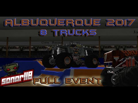 Rigs of Rods Monster Jam: Albuquerque 2017 Full Event (8 Truck Competition)