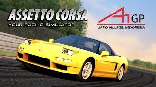 Assetto Corsa [60fps] ★ 1990 Honda NSX 3.0 @ Lippo Village Street Circuit