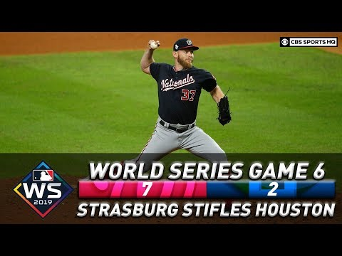 The Morning Rush with Travis Justice and Heather Burnside - Nationals Force A Game 7 As Strasburg Stifles Astros