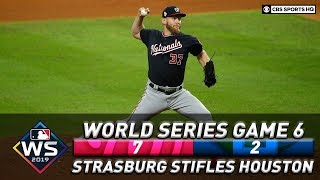 Washington forces Game 7 as Strasburg stifles Houston | World Series 2019  | CBS Sports HQ