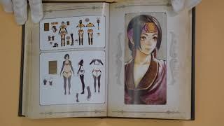 REVEAL PS4 COLLECTOR'S EDITION THE ART OF SOUL CALIBUR VI!!  (Art Book)