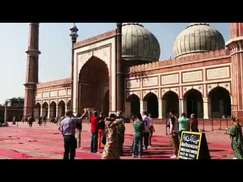 Travel Journal: Jama Masjid, Old Delhi, New Delhi, India - March 2017