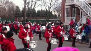 Défilé du Père Noël (Parade des jouets) 2011 a Québec