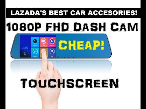 LAZADA UNBOX! WOAH! CHEAP TOUCHSCREEN DASH CAM?