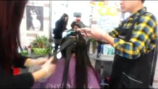 видео Уход за окрашенными волосами: как сохранить яркость, цвет и блеск волос