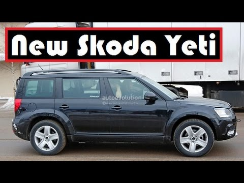 New Skoda Yeti This Czech S Suv Spied Testing On The Open Road