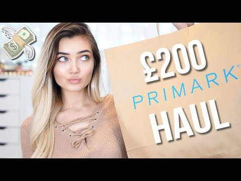 I SPENT £200 IN PRIMARK...IS IT WORTH IT!? TRY ON HAUL!