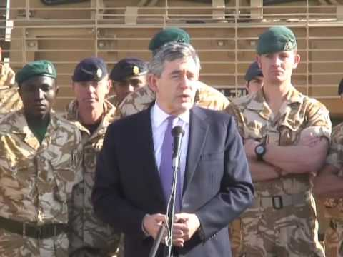 The PM in Afghanistan
