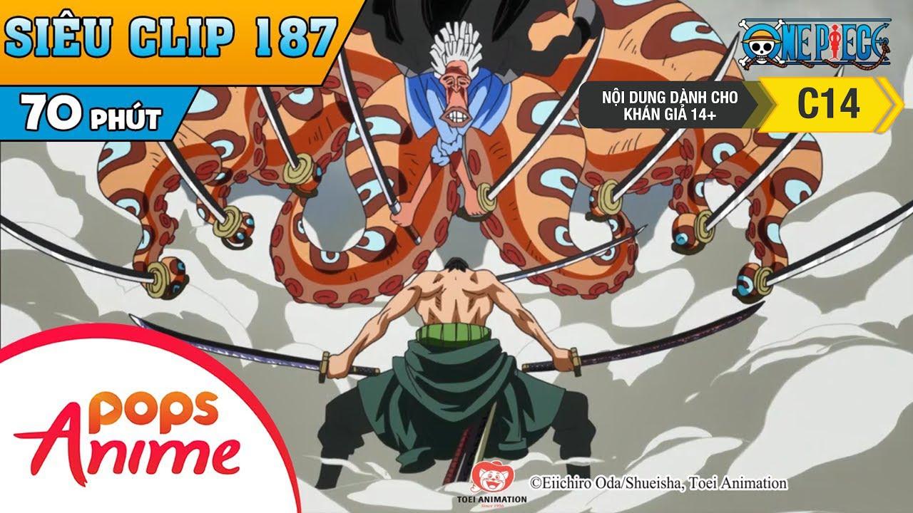One Piece Siêu Clip Phần 187 - Những Cuộc Phiêu Lưu Của Luffy Và Băng Mũ Rơm - Hoạt Hình Đảo Hải Tặc