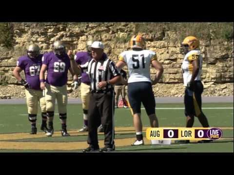 Live Sports Football vs Augustana - September 19th, 2015
