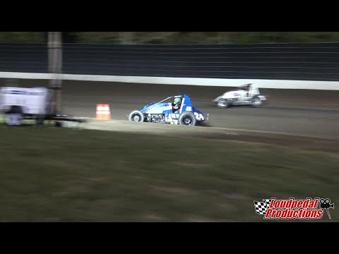 Calistoga Speedway 8-31-14 :: USAC/CRA Sprint Cars