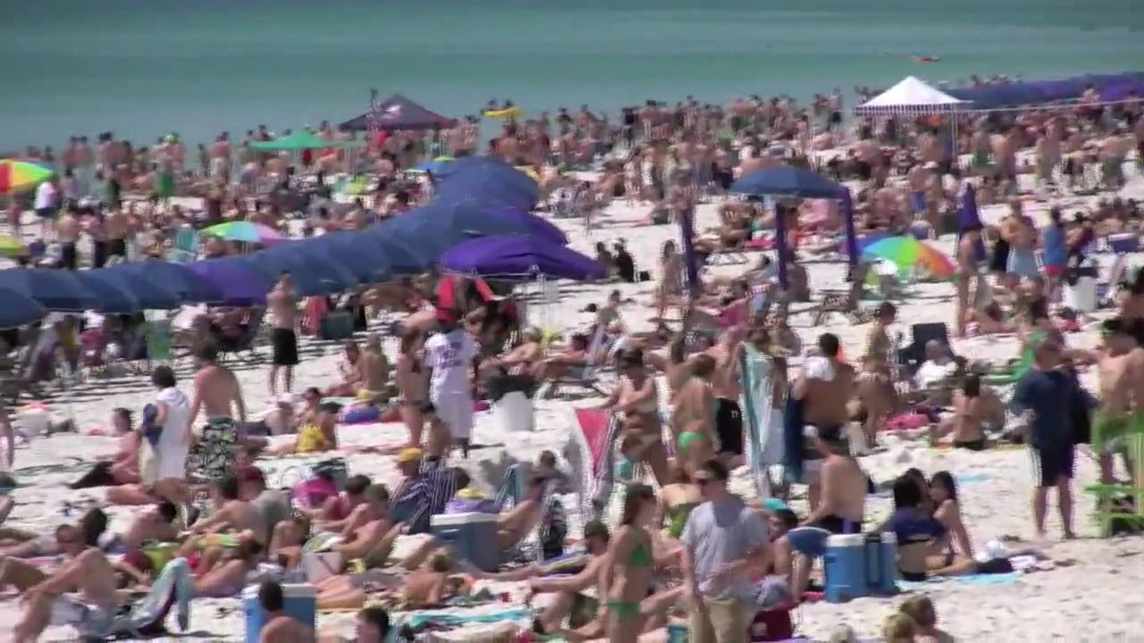 Spring Break in Destin, Florida - March,9 - YouTube