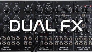 Erica Synths Dual FX sound demo