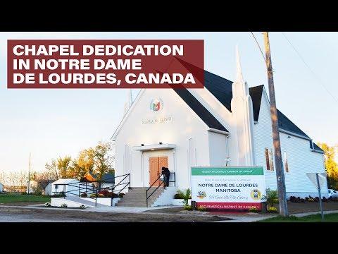Chapel Dedication in Notre Dame De Lourdes, Canada | INC News World | Iglesia Ni Cristo