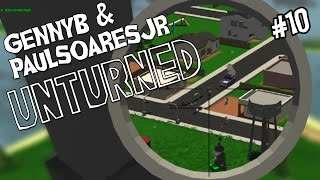 "Unturned W/ Paulsoaresjr Ep 10 - ""floating Unturned Bunker (you Are So Magical)!!!"""
