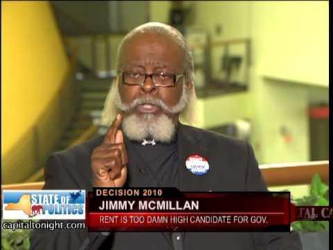 Jimmy McMillan (10/15/2010)