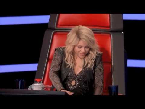 The Best Of Shakira At The Voice (Blind Audition Part 1)
