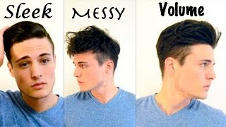 One of BluMaan's most viewed videos: Mens Hair: 3 Different Styles