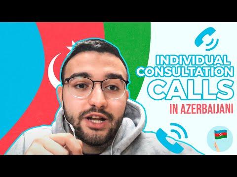 LEARN AZERBAIJANI - INDIVIDUAL CONSULTATION CALLS