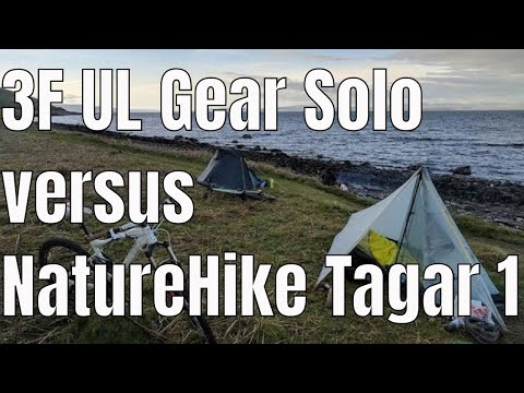 Naturehike Tagar 1 v 3F UL Gear Tent Test - Wild Camp On Arran