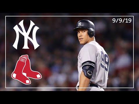 New York Yankees @ Boston Red Sox | Game Highlights | 9/9/19