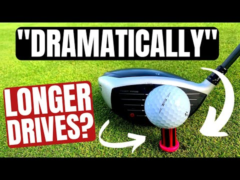 """The Golf Tee That Hits """"DRAMATICALLY LONGER DRIVES"""""""
