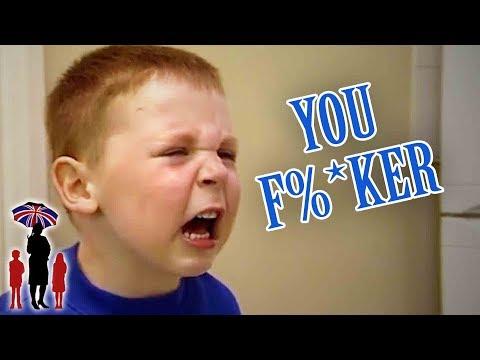 Swearing Violent Kids Have Broken Mom | Supernanny