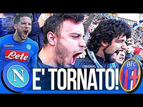 NAPOLI 3-1 BOLOGNA | E' TORNATO!!! LIVE REACTION GOL CURVA B HD