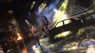 Guy Sebastian (Feat. Lupe Fiasco) - Battle Scars - The X Factor AU 2012