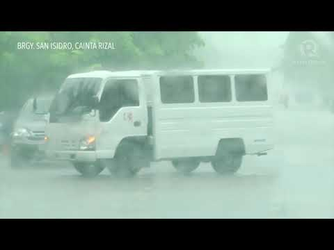 Tropical Depression Maring floods parts of Metro Manila